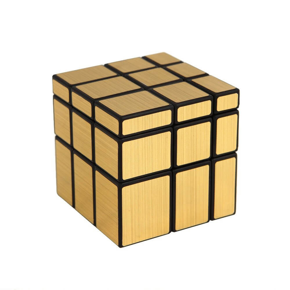 Rubik Mirror 3x3 Gold ShengShou BG1038