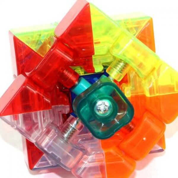 Rubik Trong Suốt 3x3 YJ