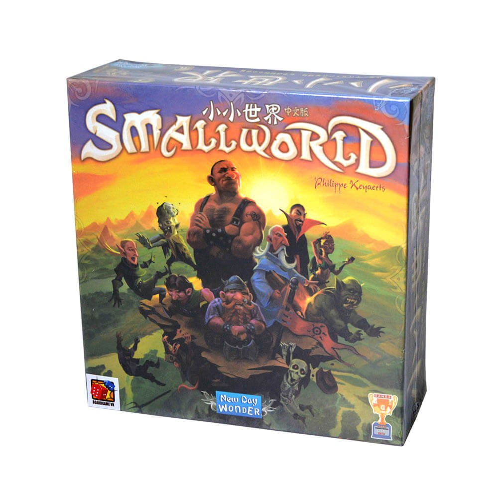 Boardgame chiến thuật hấp dẫn Small World