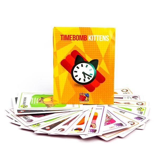 Trò chơi Board Game BG27 Timebomb Kittens - Mèo Nổ Bản Mở Rộng #4