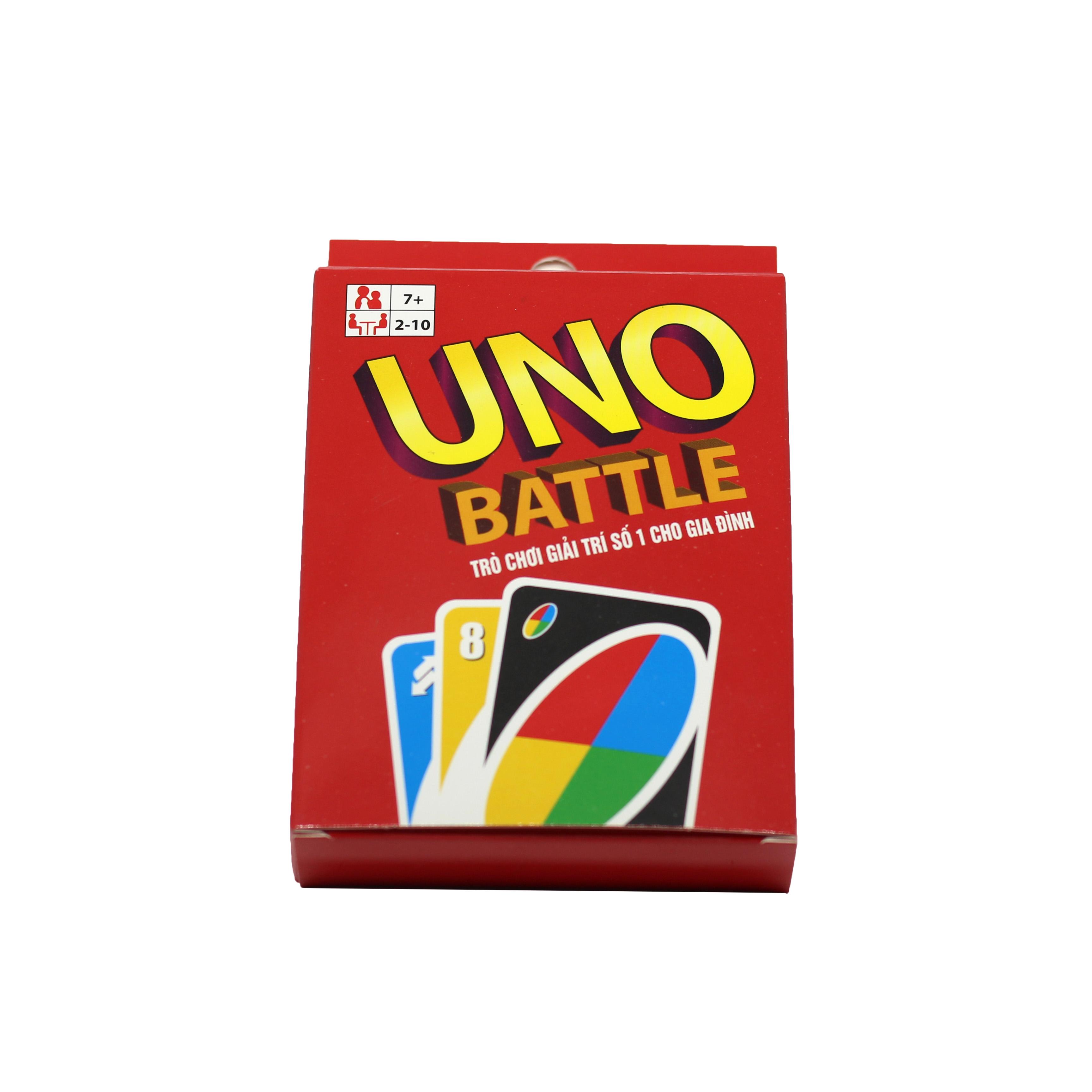 Combo UNO Đại Chiến và 2 Bản Mở Rộng
