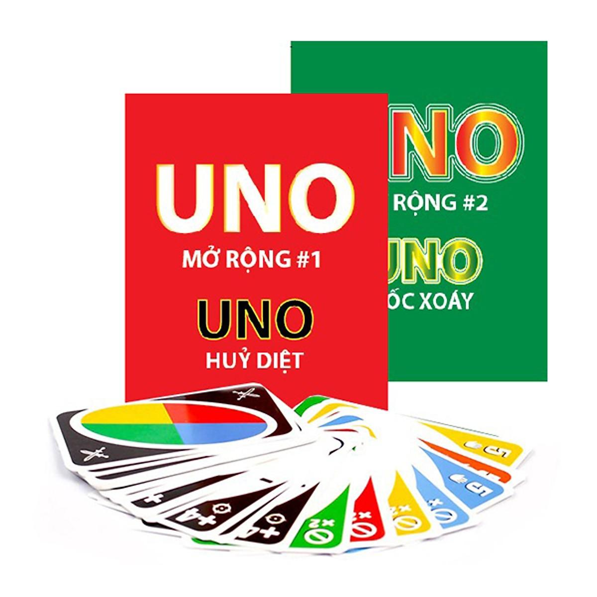 Combo Bài Uno Đại Chiến Mở Rộng - Uno Expansion & Uno Storm