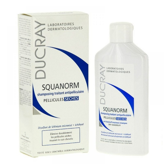 dầu gội Ducray Squanorm Shampooing