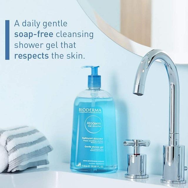 khách hàng đã dùng gel tắm Bioderma Atodem Douche