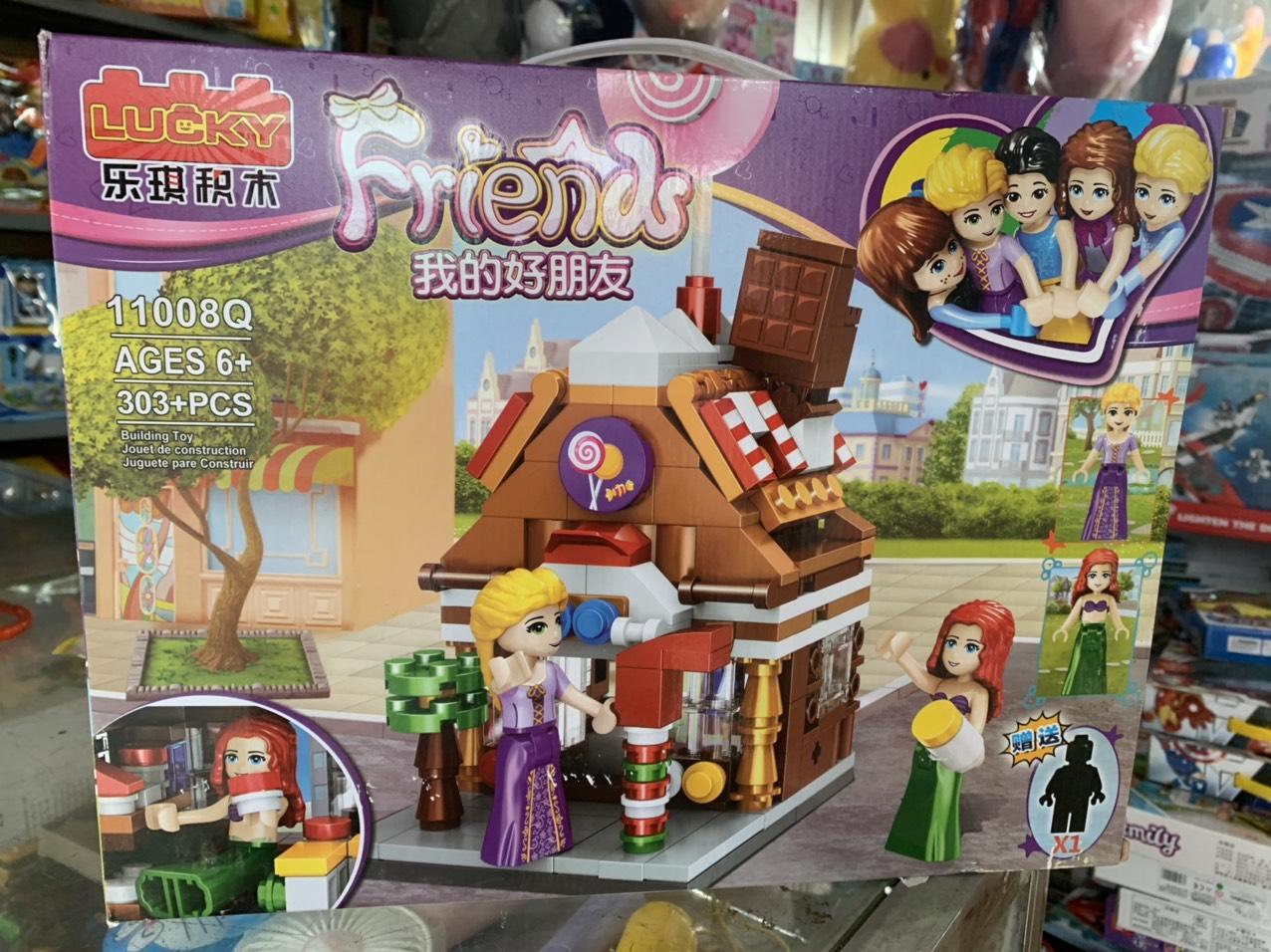 Đồ chơi lắp ráp lego friend 303 miếng ghép - 11008Q