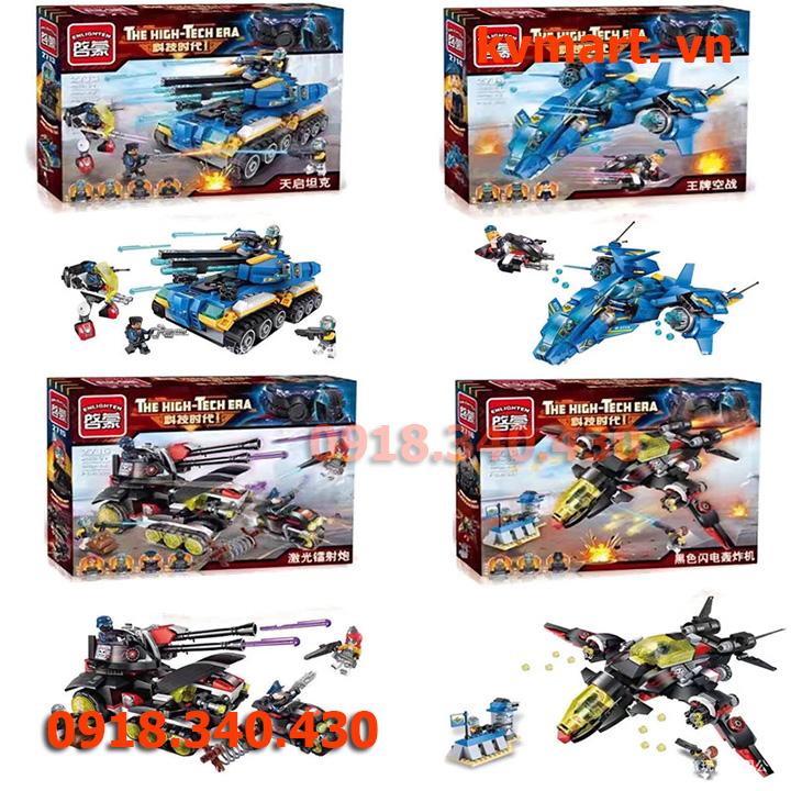 Lego máy bay- enlighten 2716
