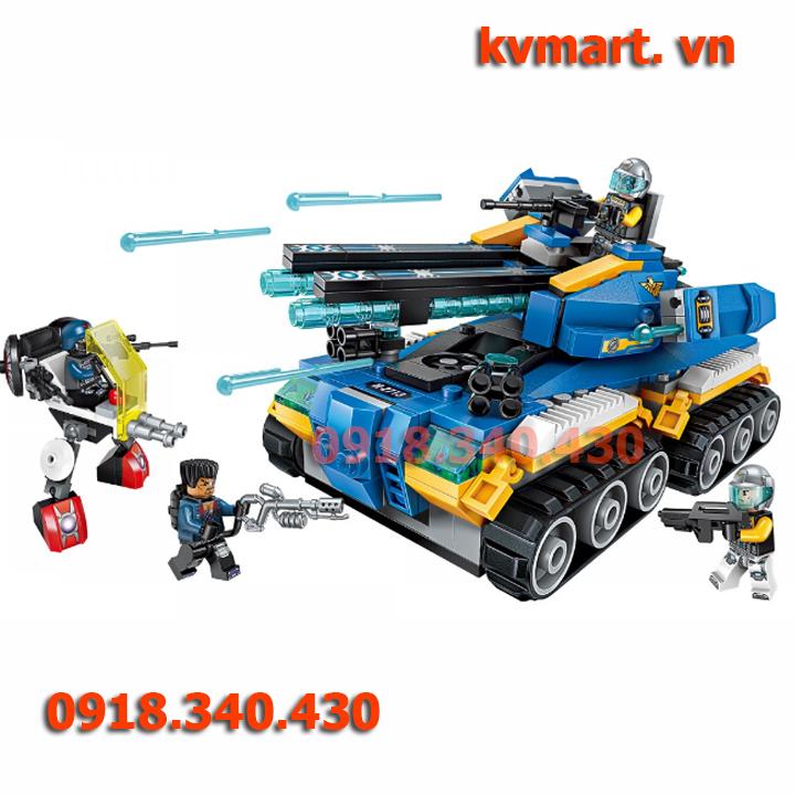 Đồ chơi Lego xe tăng - enlighten 2713
