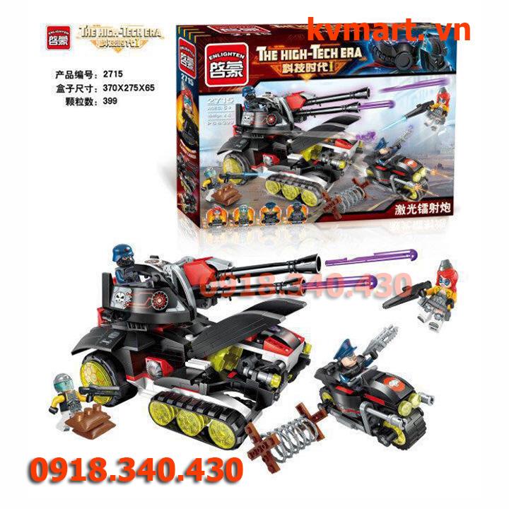 Lego Trung đoàn pháo - enlighten 2715