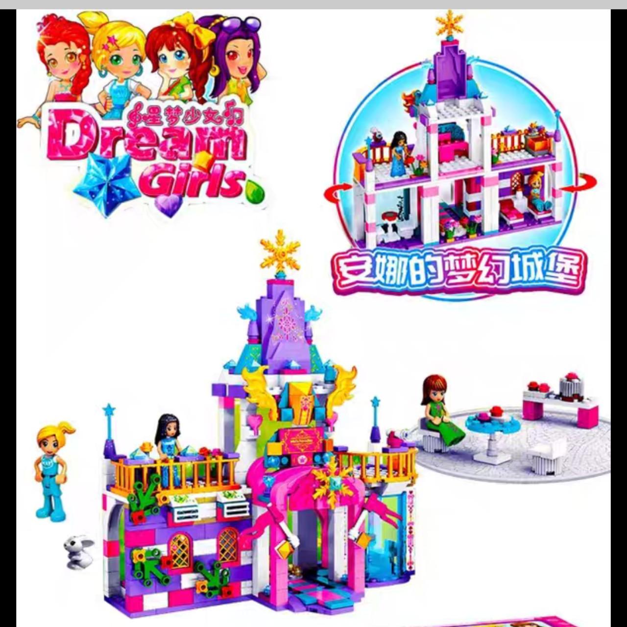 Lego Friend Lâu Đài Dream Girl 443 chi tiết - 52008