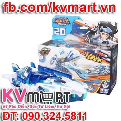 Chiến xa thần thú 682101 - Robot Cuồng Phong Nâng Cấp