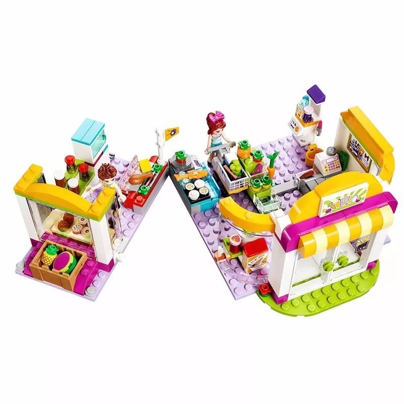 Lego Friend tiệm trái cây - bela 10494