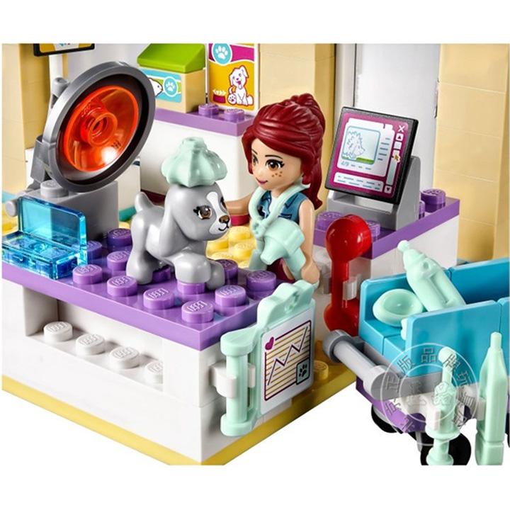 Lego Friends phòng khám ý tế - bela 10537