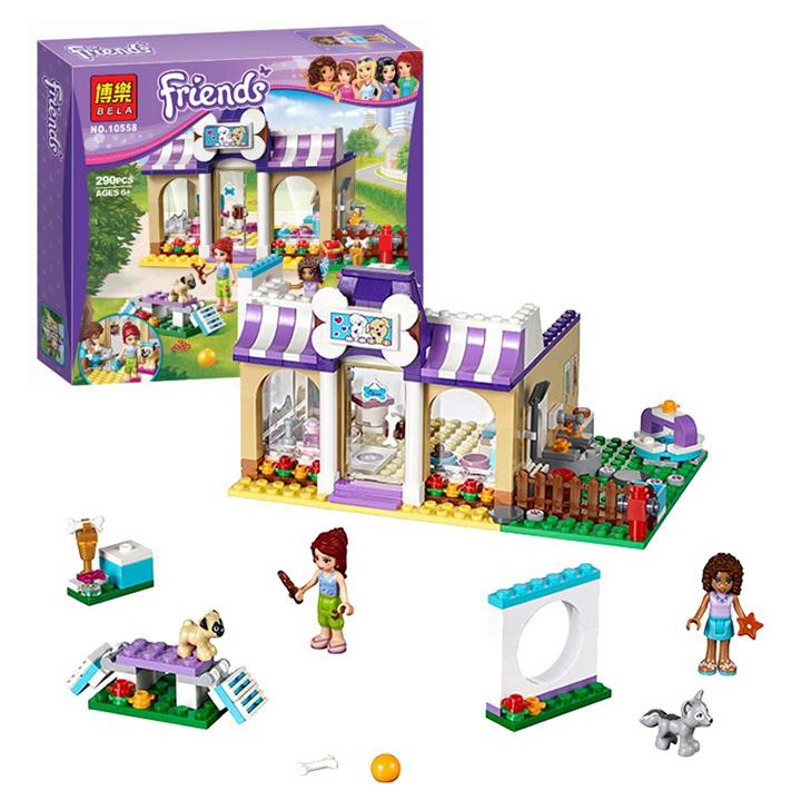 Lego Friends mô hình trung tâm thú nuôi cún cưng - bela 10558
