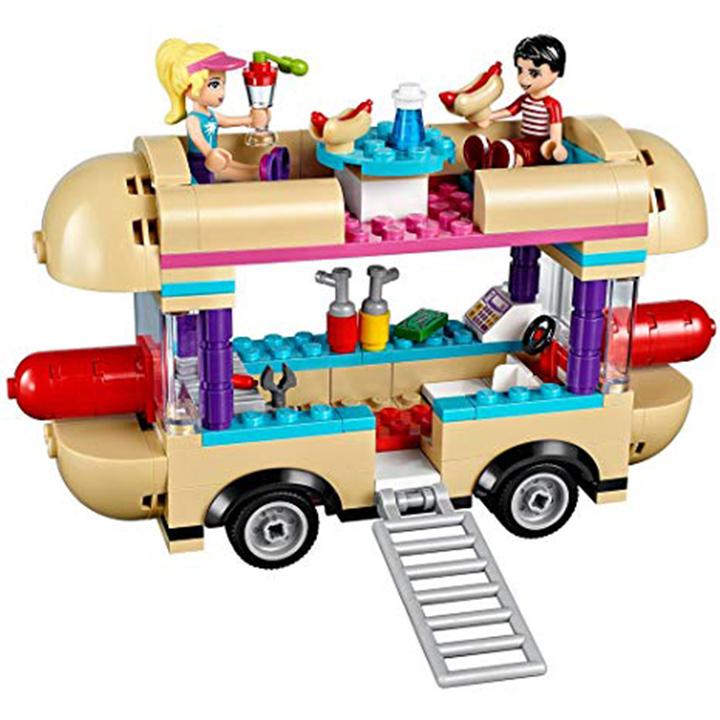 Lego Friend Xe Bán Đồ Ăn Nhanh - Bela 10559