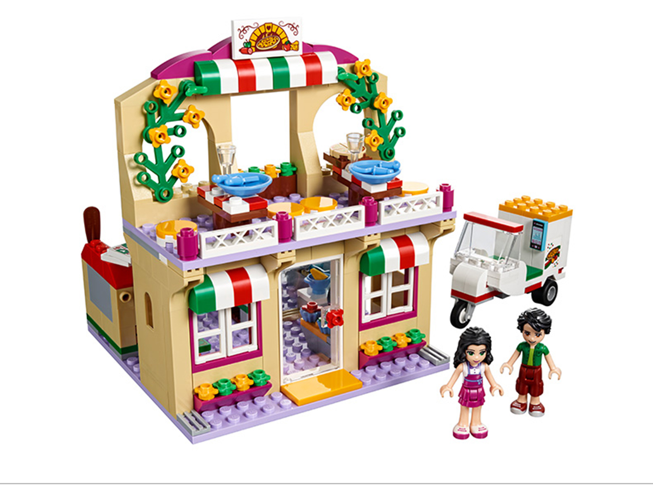 Đồ chơi Lego Friends Tiệm Bánh Pizza Heartlake 310 chi tiết - BELA 10609