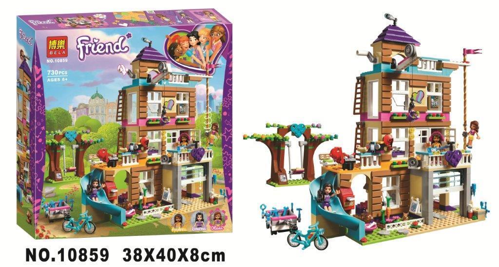 Đồ chơi Lego Friends Ngôi nhà tình bạn 730 chi tiết - BELA 10859