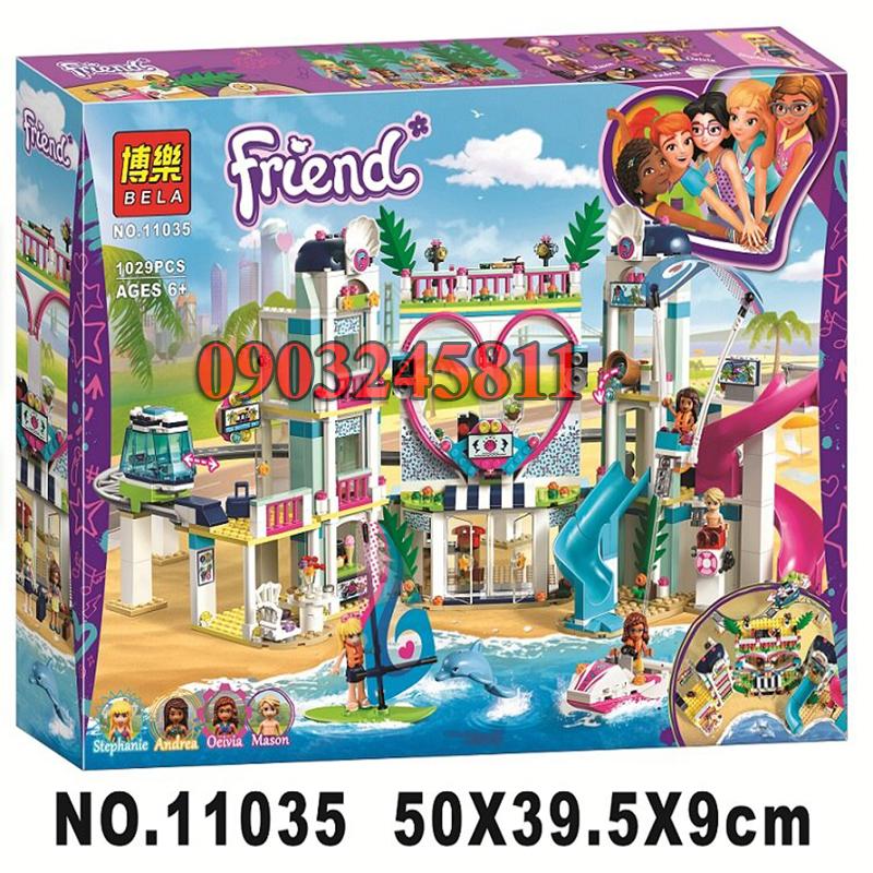 Đồ chơi Lego Friends Công viên nước Heartlake 1029 chi tiết - BELA 11035