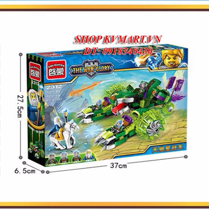 Bộ đồ chơi lắp rápEnlighten 2312Chariot The Sirius