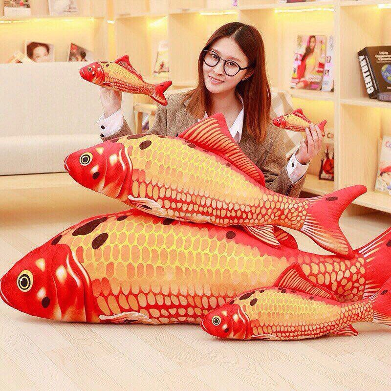 Cá chép in 3D nhồi bông