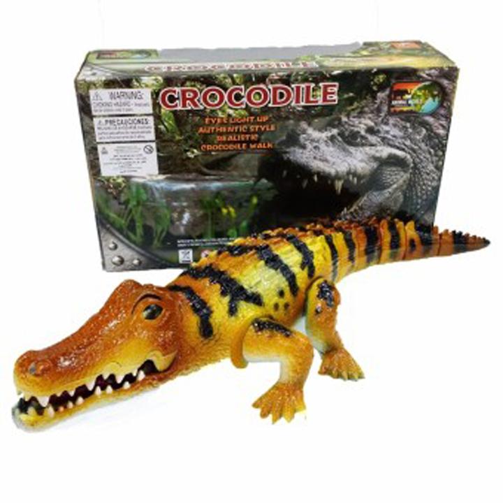 Đồ chơi cá sấu dùng pin Crocodile