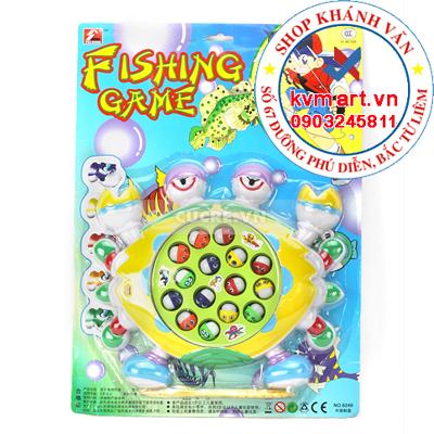 Đồ chơi câu cá phát nhạc hình con vật ngộ nghĩnh