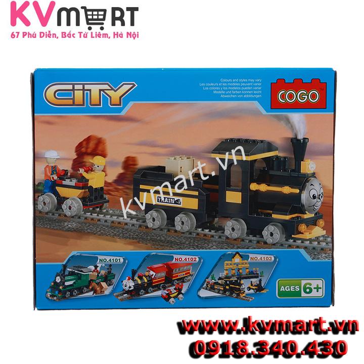 Lego Đoàn Tàu Hỏa Thomas Vàng - CoGo 4100