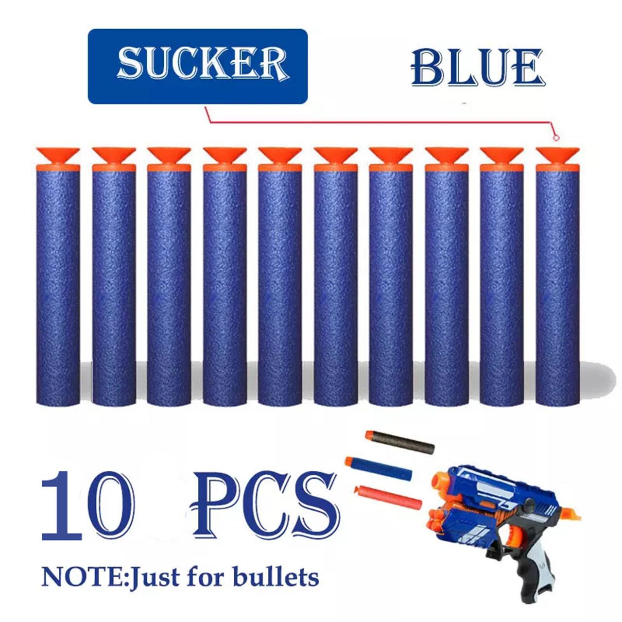 Đồ chơi đạn xốp mút kính dùng cho súng NEFT - Vỉ 10 viên