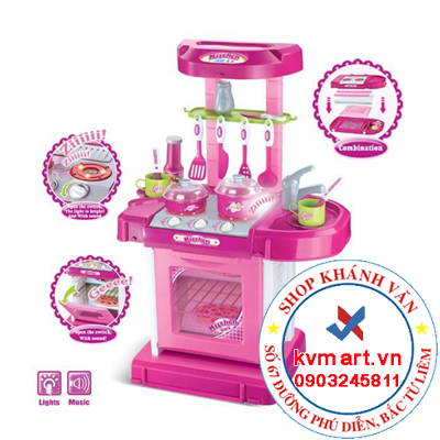 Bộ đồ chơi nấu bếp kitchen set 008-58