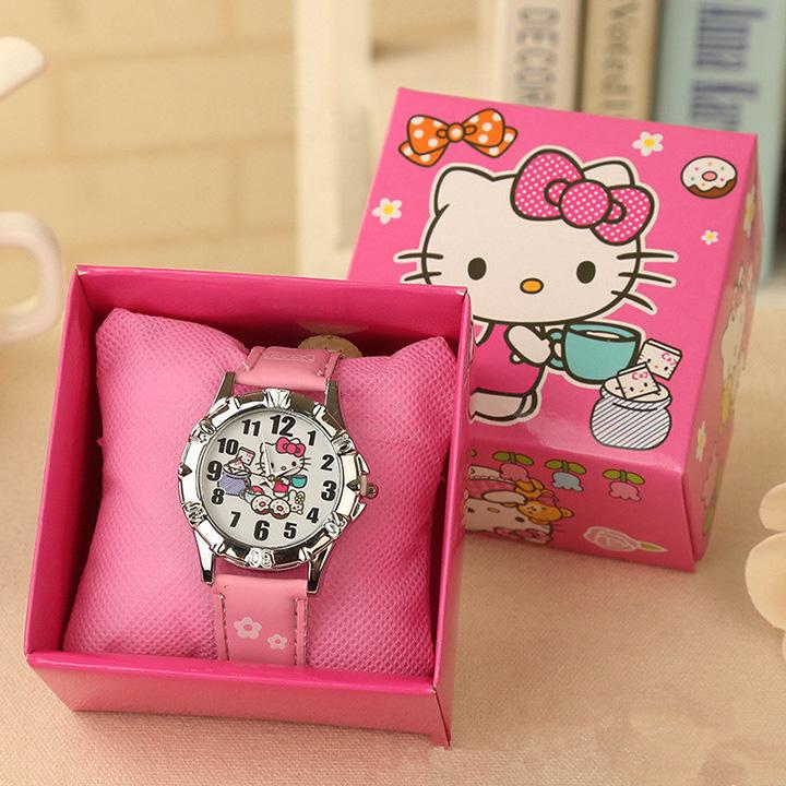Đồng hồ kim cho bé gái