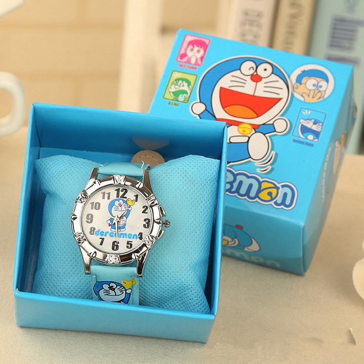 Đồng hồ kim hình chú mèo máy Doremon