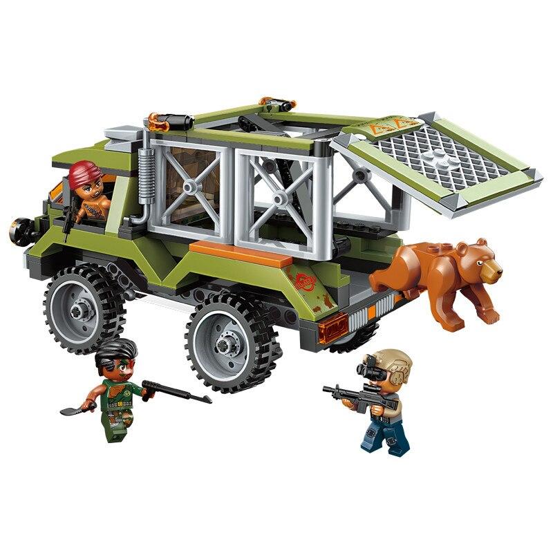 Lắp ráp Lego City biệt đội cảnh sát bảo vệ rừng 344 miếng ghép - Enlighten 1923