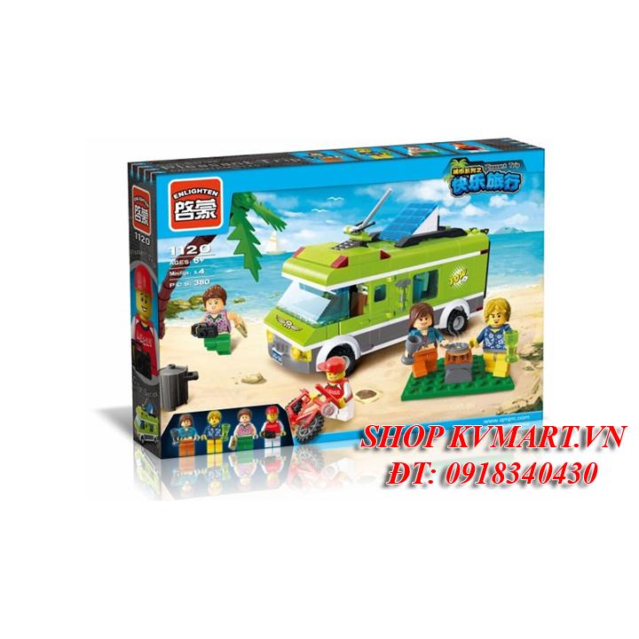 Bộ đồ chơi lắp ráp xe du lịch - enlighten 1120
