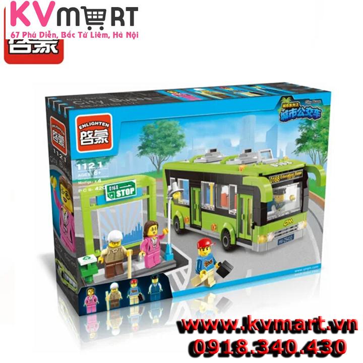 Bộ lego Enlighten 1121 - Chuyến xe bus du lịch