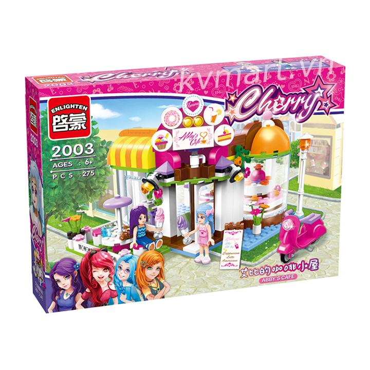Lego Quán Cà Phê Bánh Ngọt Abby - Enlighten 2003