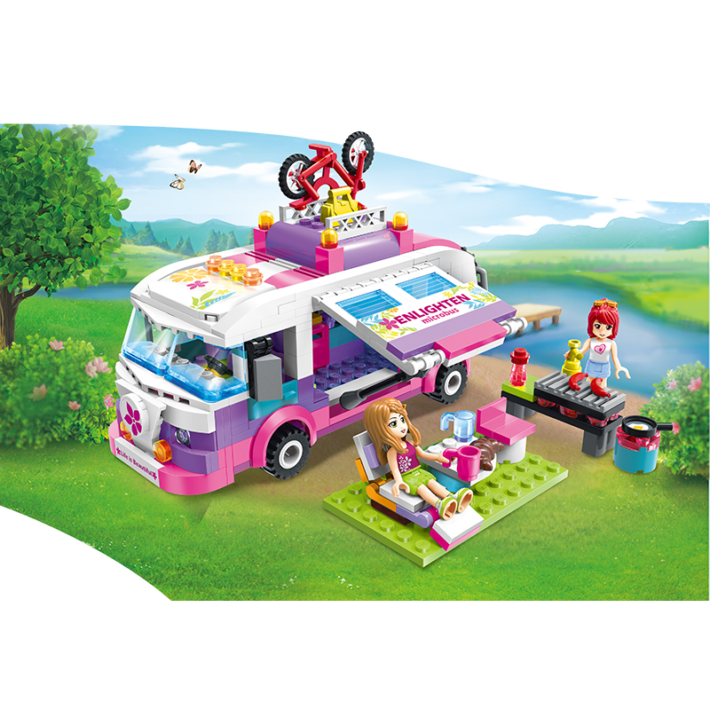 Lego Xe bus giã ngoại - Enlighten 2004