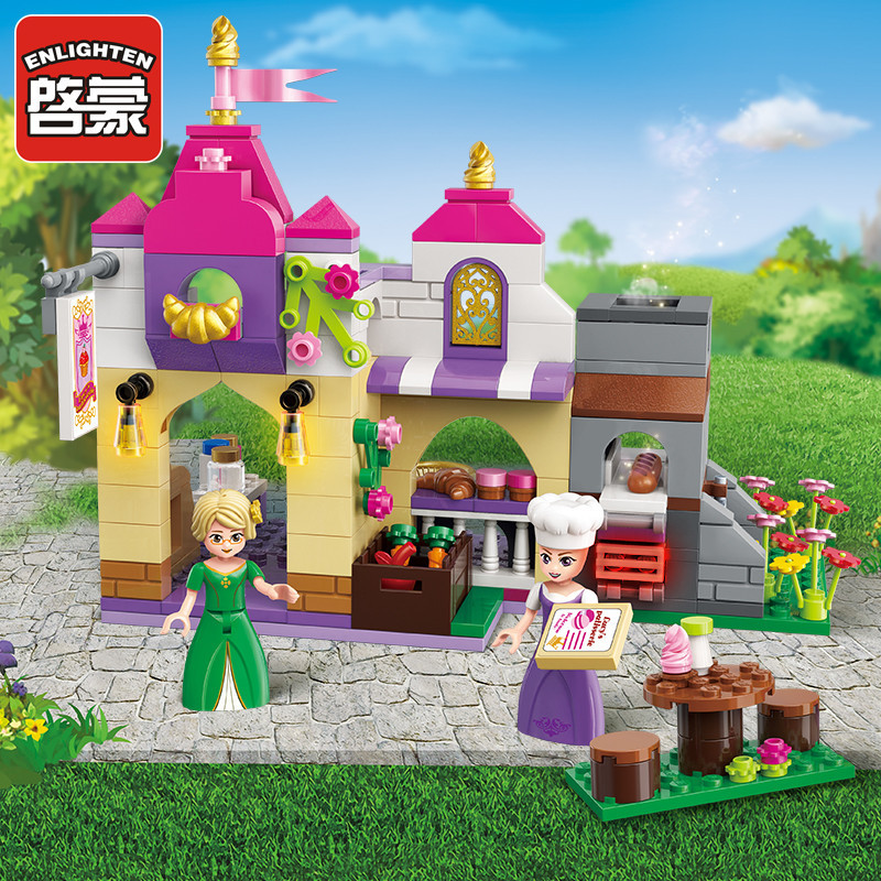 Bộ đồ chơi lắp ráp Nhà bếp vui vẻ - Enlighten 2603