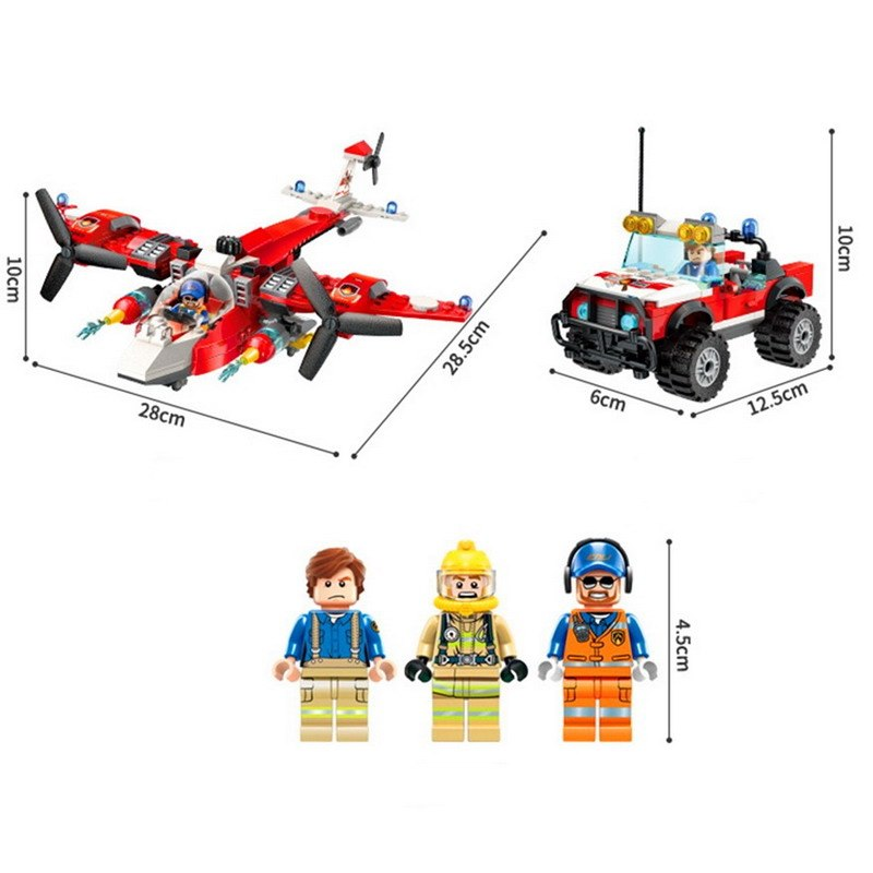 Bộ lắp ráp chủ đề cứu hỏa - Enlighten 2805