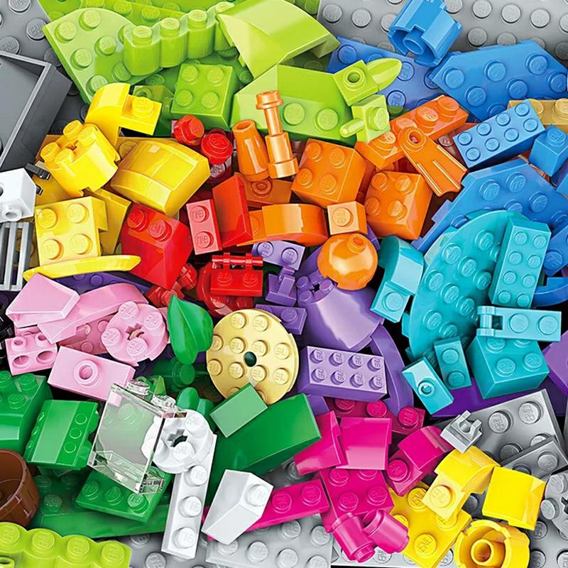 Bộ lắp ghép lego Classic hình chú voi con 1104 chi tiết - Enlighten 2903