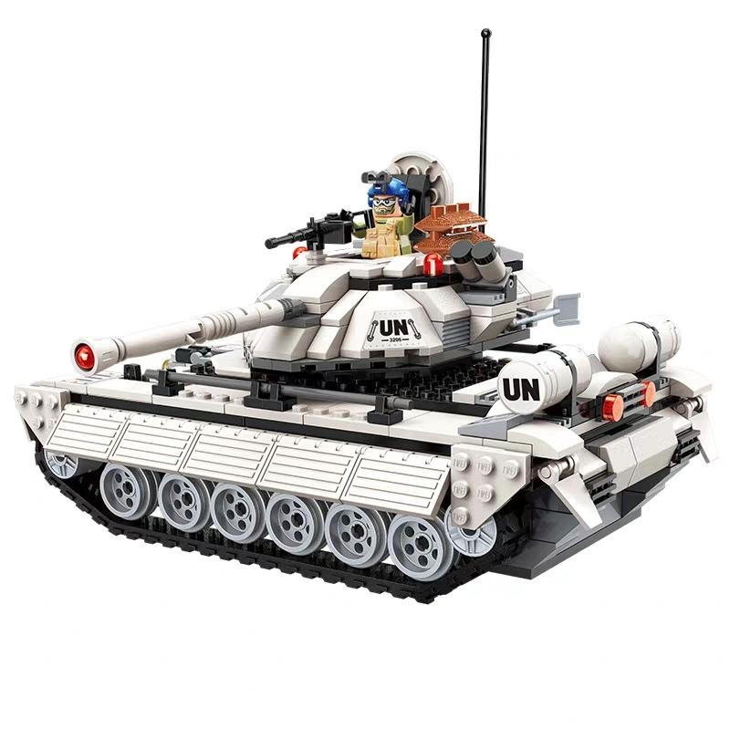Lắp ráp Xe tăng chiến trường xa mạc - enlighten 3206