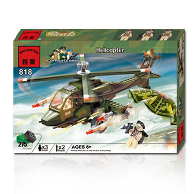 Lego máy bay trực thăng - enlighten 818