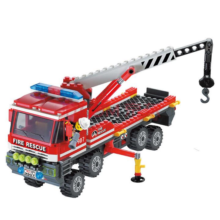 Lego xe cứu hỏa -Enlighten907