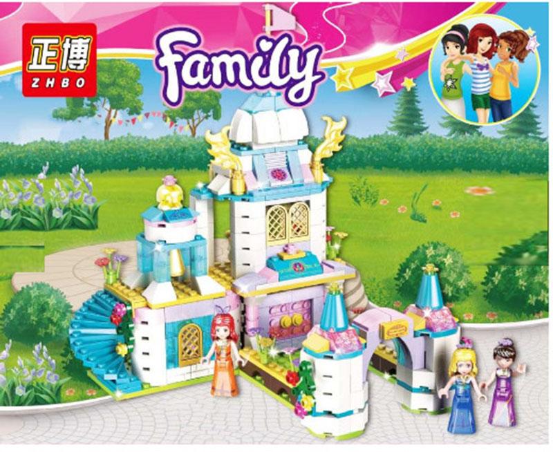 Lắp ráp Lego Friends tòa lâu đài của công chúa - Family 5585
