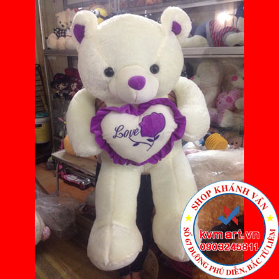 Gấu Trái Tim Love 100cm