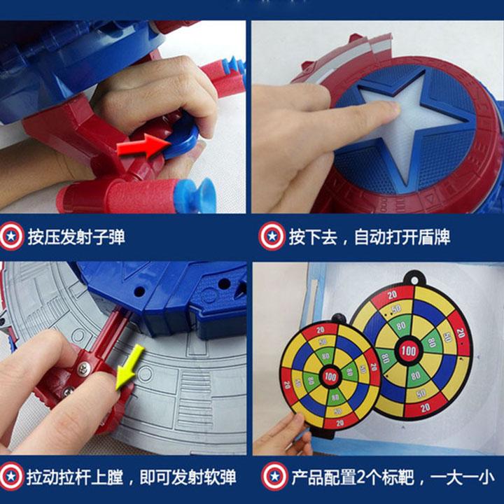 Khiên Captain America Civil War - SB402