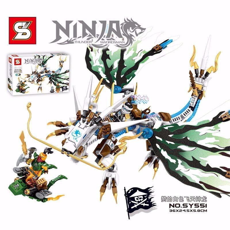 Lắp ráp Ninja rồng trắng