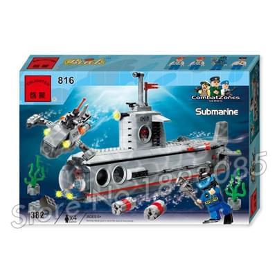 Lắp ráp tầu ngầm - 816