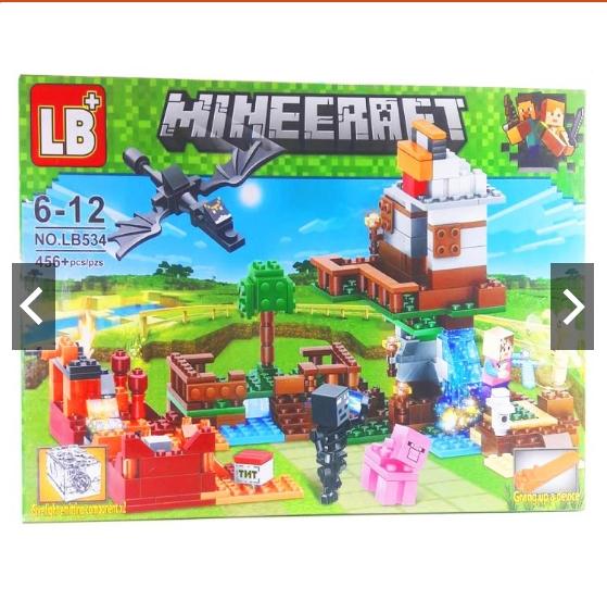 Đồ chơi lắp ráp lego My world LB534