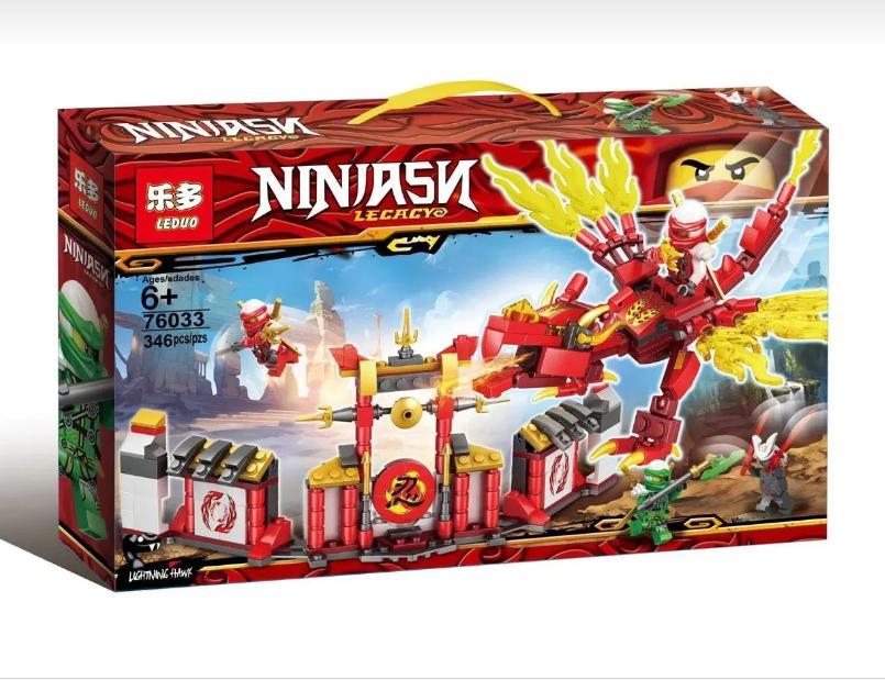 LEGO NINJAGO MOVIE NINJASN LECACY RỒNG LỬA CỦA NINJA KAY 346 MẢNH GHÉP