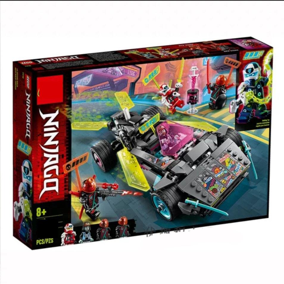 Lắp ráp Lego Siêu xe oto Tuner Car địa hình của Ninja 459 mảnh ghép -Leduo 76039