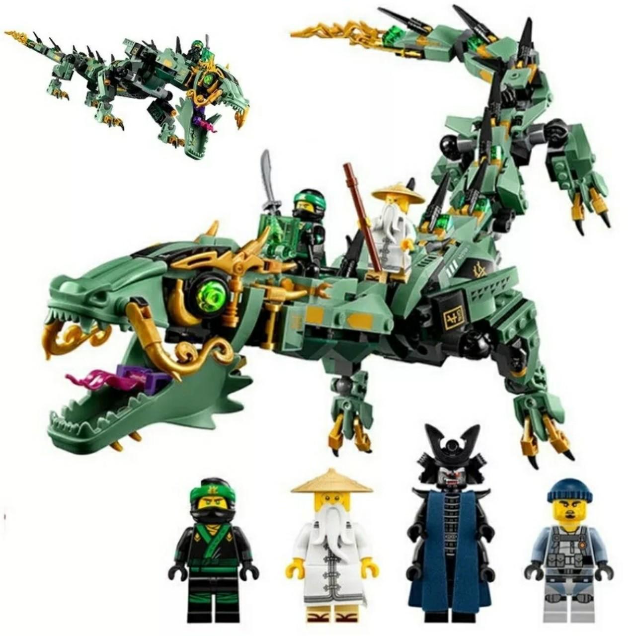 LEGO NINJAGO rồng xanh của NINJA 575 miếng ghép - LEDUO 76053
